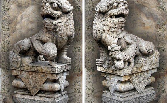 Китайские львы-стражи, Львы Фу
